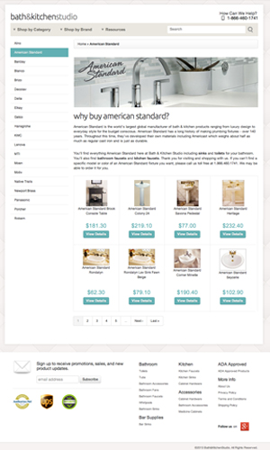 Ecommerce website using Spree